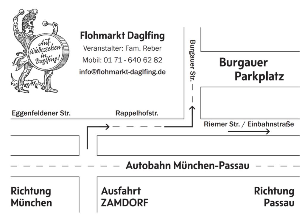 Strassenregelung-Flohmarkt-Daglfing-Juli-August-2018