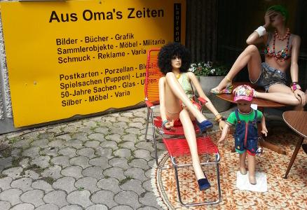 Flohmarkt München Antikmarkt-Daglfing - Aus Omas Zeiten